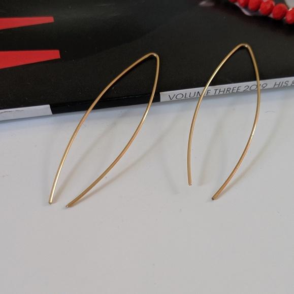 Simply Mahari Jewelry - Minimalist Wire Earrings